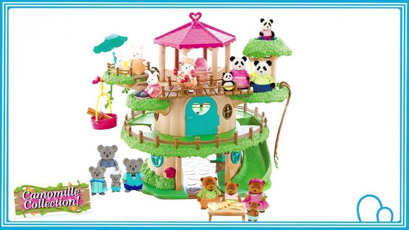 Gama de muñecos y acesorios Familia Camomille