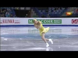 Kiira Korpi (FIN) - Europeans 2012 SP