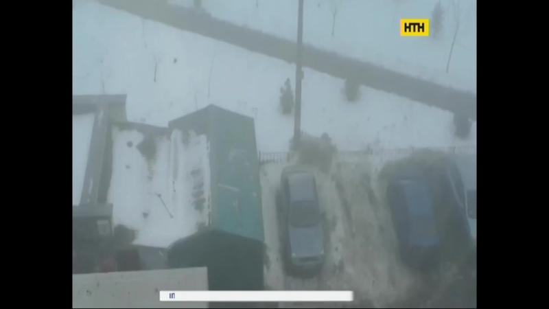 Київ оповив таємничий смог