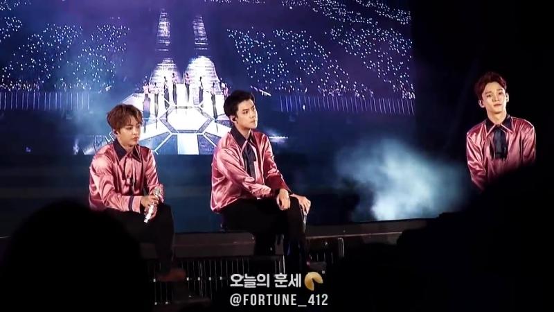 [FANCAM] 170527 EXO's Sehun - Sing for you @ The EXO'rDIUM[dot] in Seoul D-1