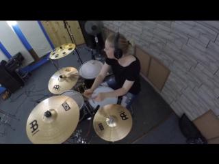 Muse - Psycho (Sasha Kas Drum Cover)