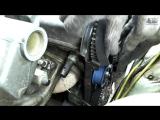 Замена ремня ГРМ 8 клапанный двигатель ВАЗ 2114, 2115. Выставление зажигания по меткам