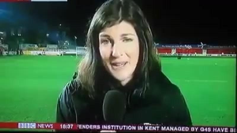 Фанат Экзетер Сити попал на ТВ :)