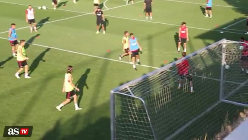 Duele solo con mirar el entreno extremo del Atleti / vk.com/fernando_torres_9