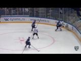 Первый результативный пас Виталия Кравцова в КХЛ