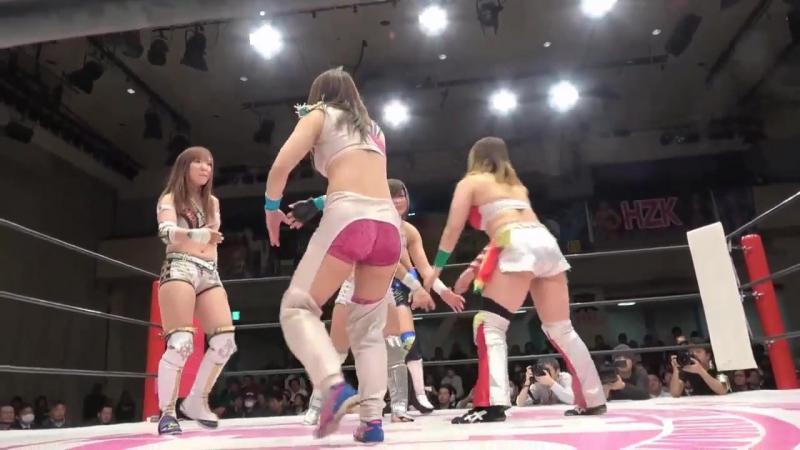 Aoi Kizuki Hiromi Mimura Jungle Kyona vs Kairi Hojo Konami Yoko Bito Stardom Io Shirai 10th Anniversary Show