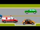 Мультик про машинки, Дружбу и Транспорт. Развивающие мультфильмы для детей от 3 лет
