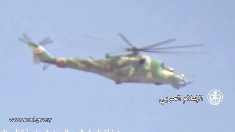 Сирия.12-09-2017.Кадры операции Сирийской армии в Хан-эль-Ших,восточная Гута