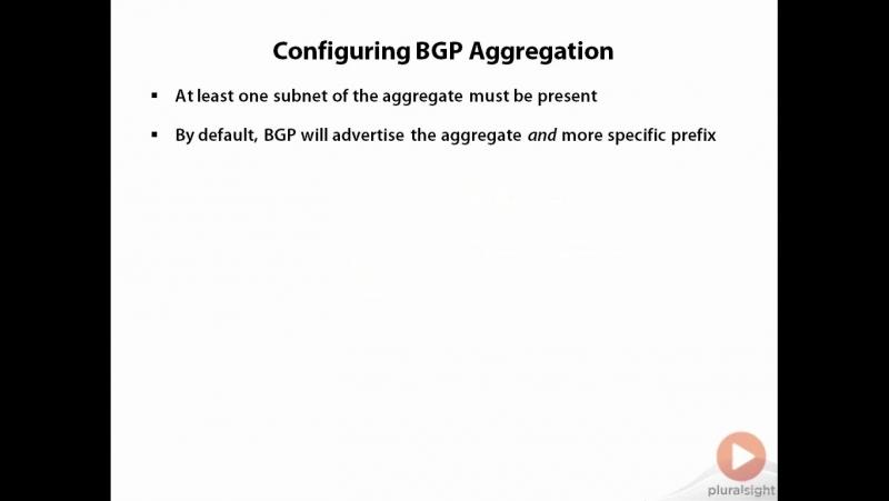 23. BGP ATOMIC_AGGREGATE PA
