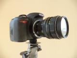 Мануальный Гелиос 44 М  -  4  на Никон - 3100.