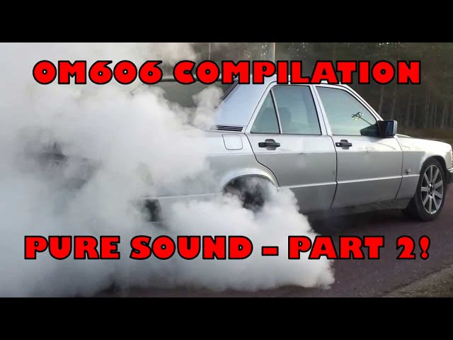 MERCEDES BENZ OM606 3.0 DIESEL COMPILATION PART 2 - PURE SOUND
