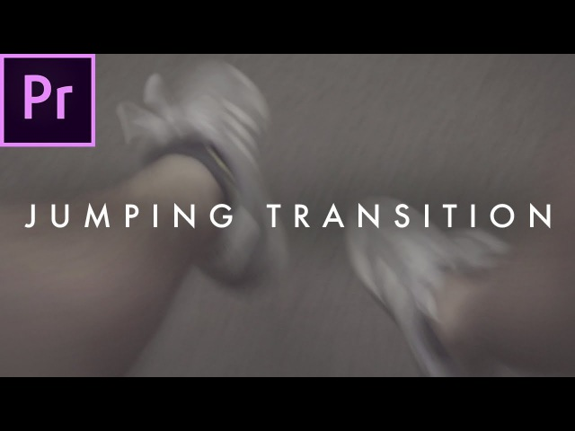 AWESOME Jumping Transition (travel film effect) | Premiere Pro Tutorial
