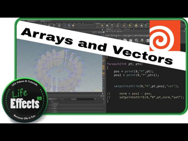 Control your Arrays with Modulo | Houdini VEX Quickies
