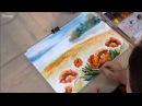 Акварель а ля прима легко и просто видео урок художника педагога Марии Гусыниной