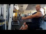 Тренировка спины. Совет по тяге нижнего блока от Сети С-фитнес.
