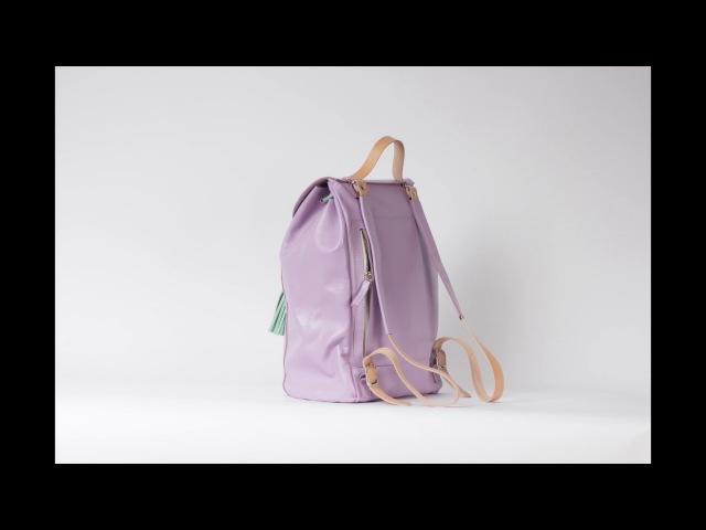 Рюкзак-мешок Kokosina из натуральной кожи