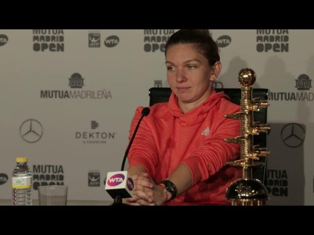 Simona Halep, campeona del Mutua Madrid Open 2017