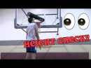Brodie Stephens Gets His Head ABOVE The Rim! Sick Height Check!