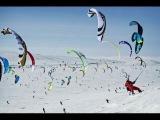 Wind Powered Ski and Snowboard Race - Red Bull Ragnarok