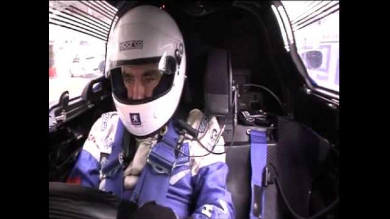 Fillon pilote la Peugeot 908