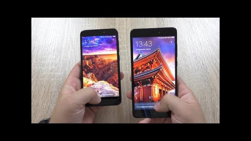 Xaiomi Redmi 4X PRO VS Xiaomi Redmi Note 4X Стоит ли переплачивать? Какой взять?