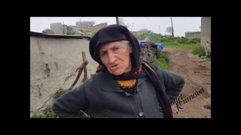 Седекъет Керимова. Лезги лекьерин макан Кьуьхуьр (Кусарский район) Qusar. Lezgi film