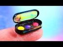 DIY Miniature Makeup ~ Eyeshadows