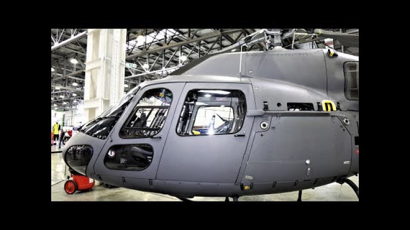 AIRBUS AS 355 NP. CITICOPTER. HELIATICA. HELIRUSSIA 2017 4K
