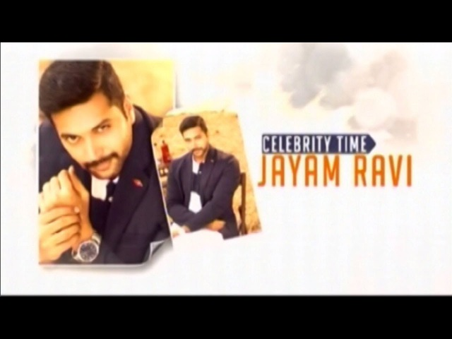Celebrity Time : Jayam Ravi Special Interview On 'Vanamagan'
