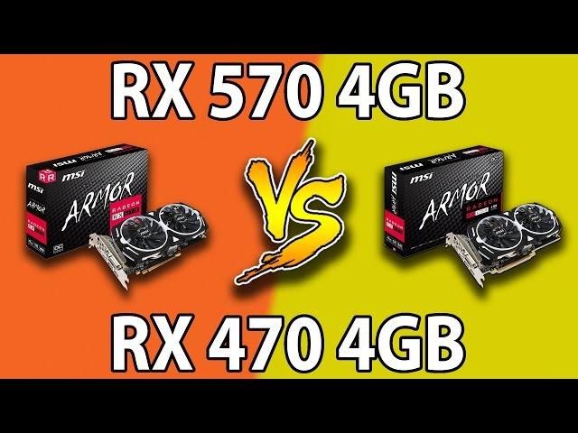 RX 570 VS RX 470 | 1080p and 1440p Comparison
