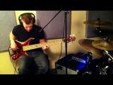 Bass &amp Drums live Studio Jam - Damien Langkamer and Tommy Bates