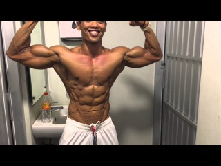 Shredded muscle pose, no supplement, no steroids indonesia-59