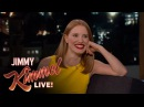 Jessica Chastain Loves Stinky Fruit