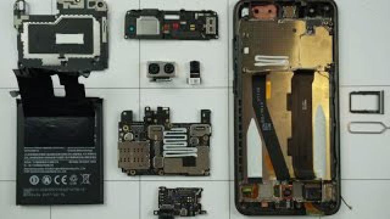 Xiaomi Mi6 - разборка, смотрим что