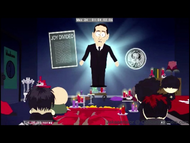 South Park: The Stick of Truth (2012 THQ Build) Cut Goth Kids Level