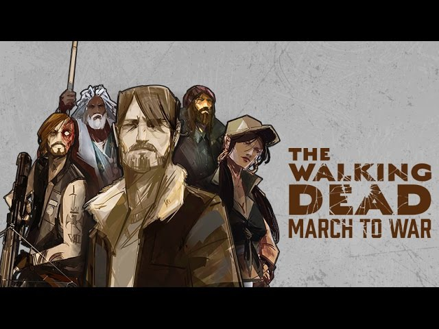 The Walking Dead: March to War Android GamePlay (By Disruptor Beam)