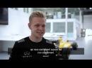Behind the scenes with Magnussen at Enstone Dans les coulisses d'Enstone avec Kevin Magnussen