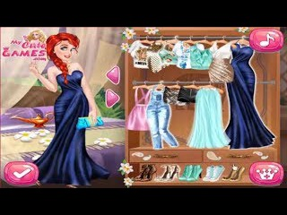 Disney Princess Games - Makeup Princess Games Dressup Princess Games Jasmine and Ariel Wardrobe Swap