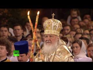 Live: Patriarch Kyrill eröffnet mit feierlicher Messe in Moskau russische Weihnachten