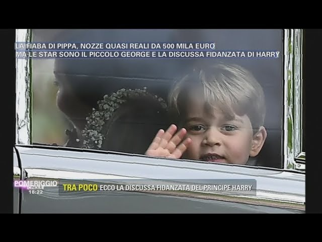 NOZZE DI PIPPA-IL PRINCIPINO GEORGE HA GIA' AVUTO UN EREDITA...IL CARATTERE RIBELLE DI NONNA DYANE