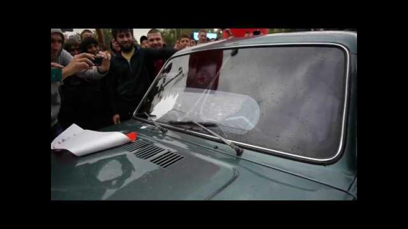 Басы в машине Будённовская НИВА рвёт всех супер бас