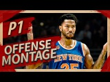 Derrick Rose UNREAL Offense Highlights Montage 20162017 (Part 1) - CRAZY Crossovers, MVP ROSE!