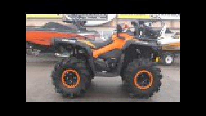 Orange Black XTP PPSM Mud Special! 2015 Outlander 1000 Gen2