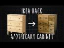 IKEA Hack! TARVA Apothecary Cabinet [DIY]