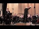 Oscar Navarro: Concerto №2 for clarinet and Concert Band-soloist Larin Nikolai