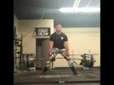 Кристофер Бриджфорд, тяга 410 кг