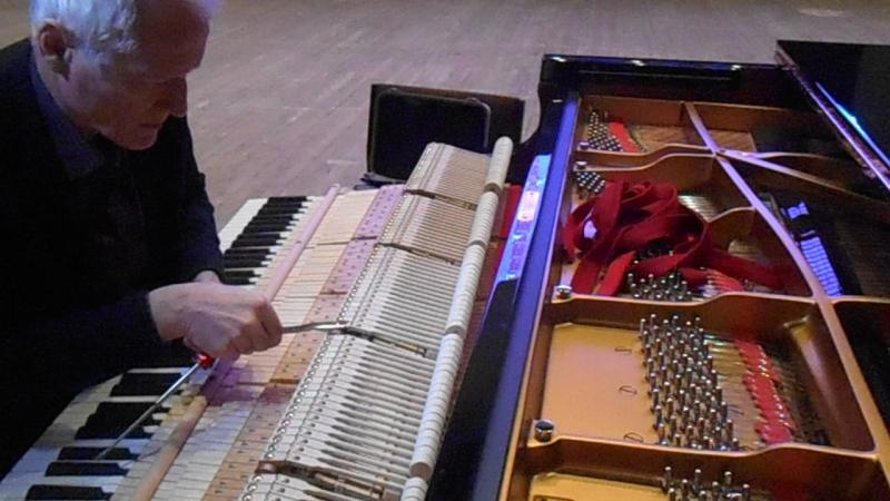 Настройка рояля Steinway март 2017, Ульяновск (c)www.ulgrad.ru
