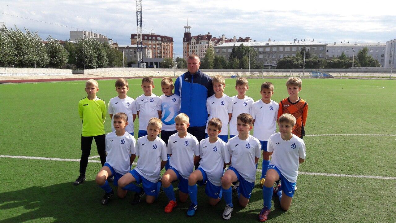 «Динамо-2006» заняло XI место на турнире «Загрузи себя футболом»