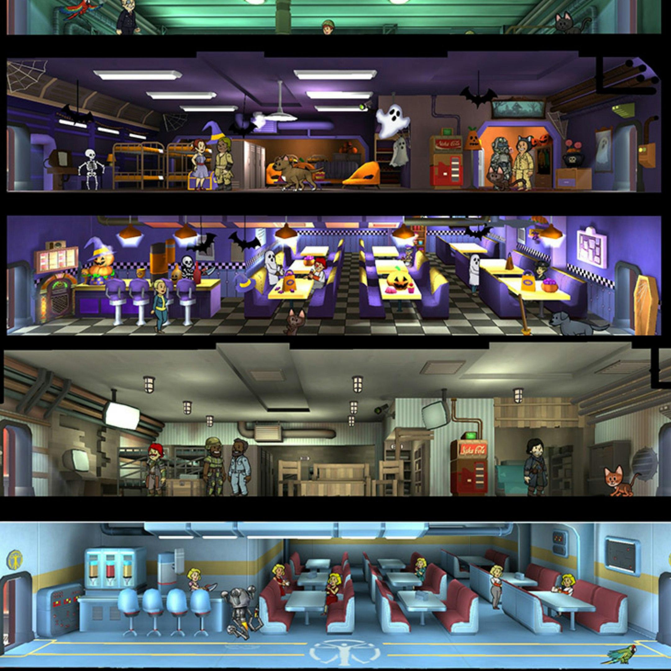 FalloutShelter – доступно обновление 1.