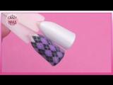 """♥Дизайн ногтей """"Свитер""""♥Какой гель краской я рисую вензеля♥"""